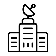 See more icon inspiration related to tower, news, media, antenna, architecture and city, signal tower, satellite, architecture, communications and building on Flaticon.