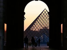 punkottawa.com : message board : view topic #louvre #paris #arch #sunset