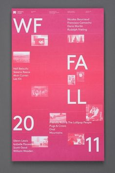 Western Front Fall Calendar — Post Projects #poster