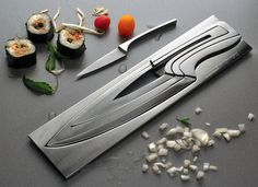 Nesting Knives #kitchen #tools
