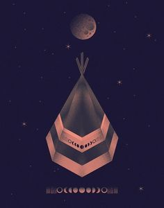 OIT8DOI2™ The Work of Bruno Borges #oit8doi2 #digital #illustration #indian #luna