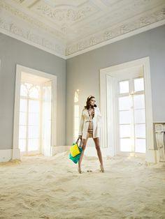 Ada Wrzesinska by Frederico Martins for Elle Portugal #fashion #model #photography #girl