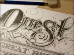 Beautiful Typography - Where have all the master pen men gone? (1280×960) #typography