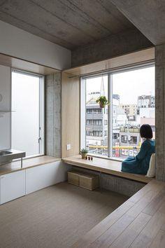 Tatsumi Apartment - Hiroyuki Ito Architects 6