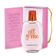 Base: All of me eau de toilette #hand #writing