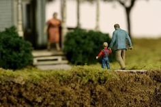 Firing for Effect by Thomas Doyle #doyle #sculpture #suburbia #thomas #art #miniature