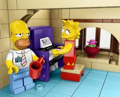 Lego Simpsons Set13 #simpsons #toys #simposons #lego
