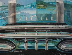 Nate Stromberg Art #collage #car