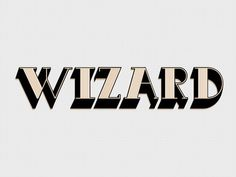 wizard #font #old #lines #africa #design #graphic #south #kimberley #wizard #typography
