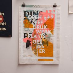 screenprint gezeever