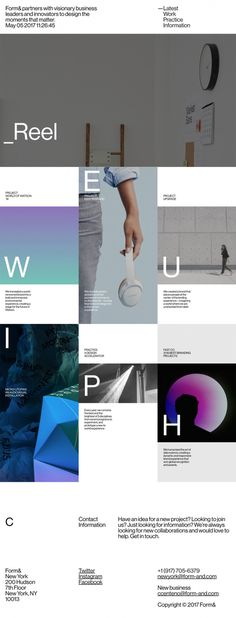 Form& - Mindsparkle Mag - Form& partners are a diverse group of thinkers, designers, collaborators with global expertise whose website is aw