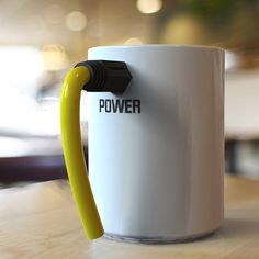 Wired Coffee Mug #tech #flow #gadget #gift #ideas #cool