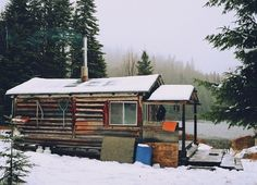 Google Reader (67) #cabin #wood #lake #fishing #winter
