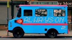 Nike Sportswear Ice Cream Truck - Nike Sportswear #truck #ice #nike #cream