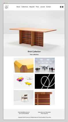 H Furniture #website #layout #design #web