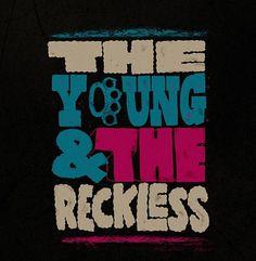 http://mycuzen.tumblr.com/ #youngreckless #bradcuzen #design #the #typography
