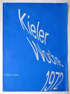» kieler Woche 1972 Flickrgraphics #flickrgraphics #poster #kielerwoche