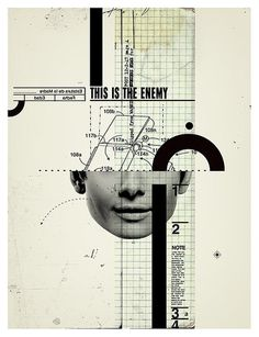 This is the enemy | Flickr - Photo Sharing! #portrait #collage #face