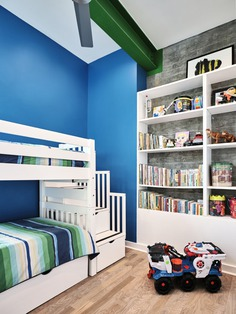 kids room / Nathan Fell Architecture