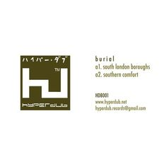 Hyperdub | Burial: South London Boroughs (HDB001) #burial #lp #album #hyperdub