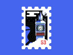 Main St. Post Office Stamp Collection 4|16