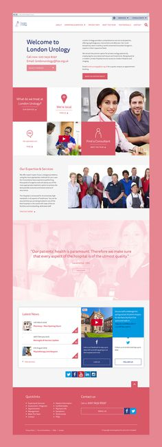 The hospital of St John and St Elizabeth #Branding #Design #Digital #WebsiteDesign #ModularDesign #Inspiration #Creative
