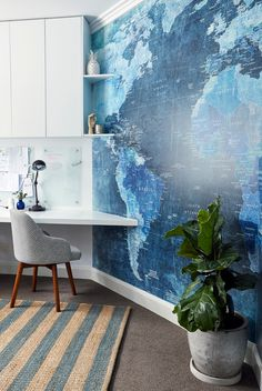 Turramurra Home Office by Alix Helps Interiors