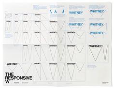 Whitney Logo and Identity #logo #branding #identity #whitney