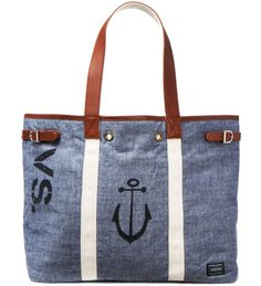 Head Porter x Dr. Romanelli Chambray S.O.S Tote #bag #anchor