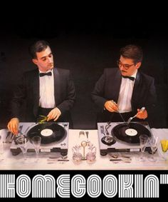 HomeCookin' taste the music #turntables #mixes #food #vinyl #homecookin #music #djmix