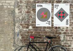 Shanghai Biennale / Sydney Pavilion on Behance #shanghai #graphic #symbols #wall #posters #biennale