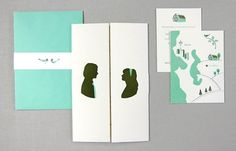 design work life » cataloging inspiration daily #wedding #invitation