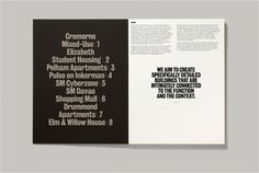Hofstede Design – SI Special | September Industry #spread #magazine #typography