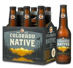 Colorado Native #packaging #beer #label #bottle