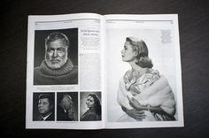 PAPER MAGAZINE NO.40 by Manos Daskalakis. #layout #editorial #magazine