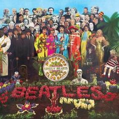 Beatles - Sgt. Pepper's Lonely Hearts Club Band, Peter Blake #cover #album #artwork