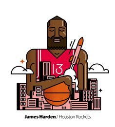 James Harden by @njuste