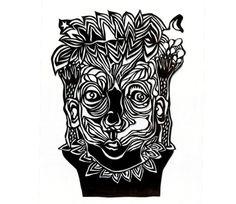 johannafloeter #black #illustration #kids #papercut #paper