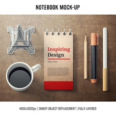 Notebook mock up template Free Psd. See more inspiration related to Mockup, Coffee, Cover, Template, Web, Website, Pencil, Notebook, Pen, Mock up, Templates, Website template, Mockups, Up, Web template, Realistic, Real, Web templates, Mock ups, Mock and Ups on Freepik.