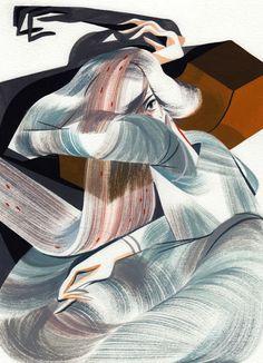 Ping Zhu #paint