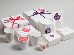 #tea #cake #cafe #branding