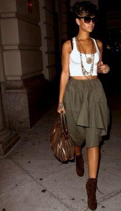 ...FASHIONISGREAT.COM... #fashion #style #rihanna #girl