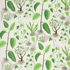 TA11887_1.jpg (742×742) #pattern #leaf #nature #textile #frank #garden #josef #green