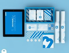 CREATIVEHYPE™ on the Behance Network #creative #brand #arranging #blue #hype
