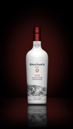 Grahams Port Bottle Concept Packaging #bottle #packaging #render #wine #port #3d