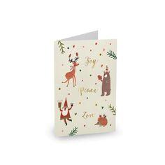 Never Too Old For Christmas - Christmas Cards #christmas #cards #christmascards #invitation #paperlust #paper #print #metallicsprints #desi