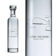 Jonah and the Whale : Lovely Package . Curating the very best packaging design. #vodka