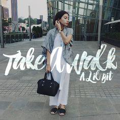 Take a Walk A Lil Bit