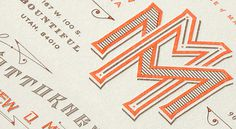 Kevin Cantrell Design/ Law Office of Matthew Messina #print #detail