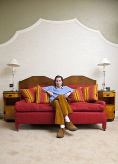 Wes Andersson #lamp #movie #sofa #couch #director #furnature #wes #andersson